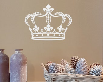 """Wall decal & furniture decal """"Krone"""", stickers, stickers"""