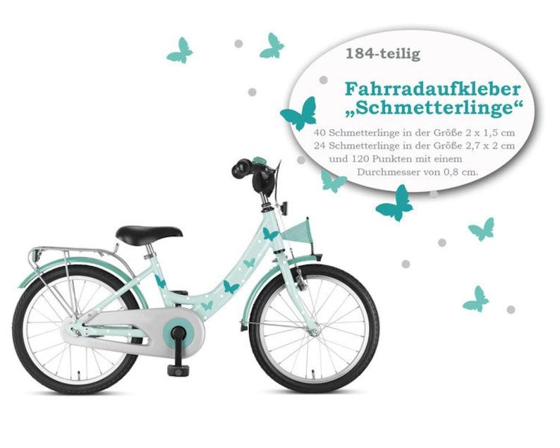 Bike sticker Fahrradtattoos Butterfly 184-piece image 0
