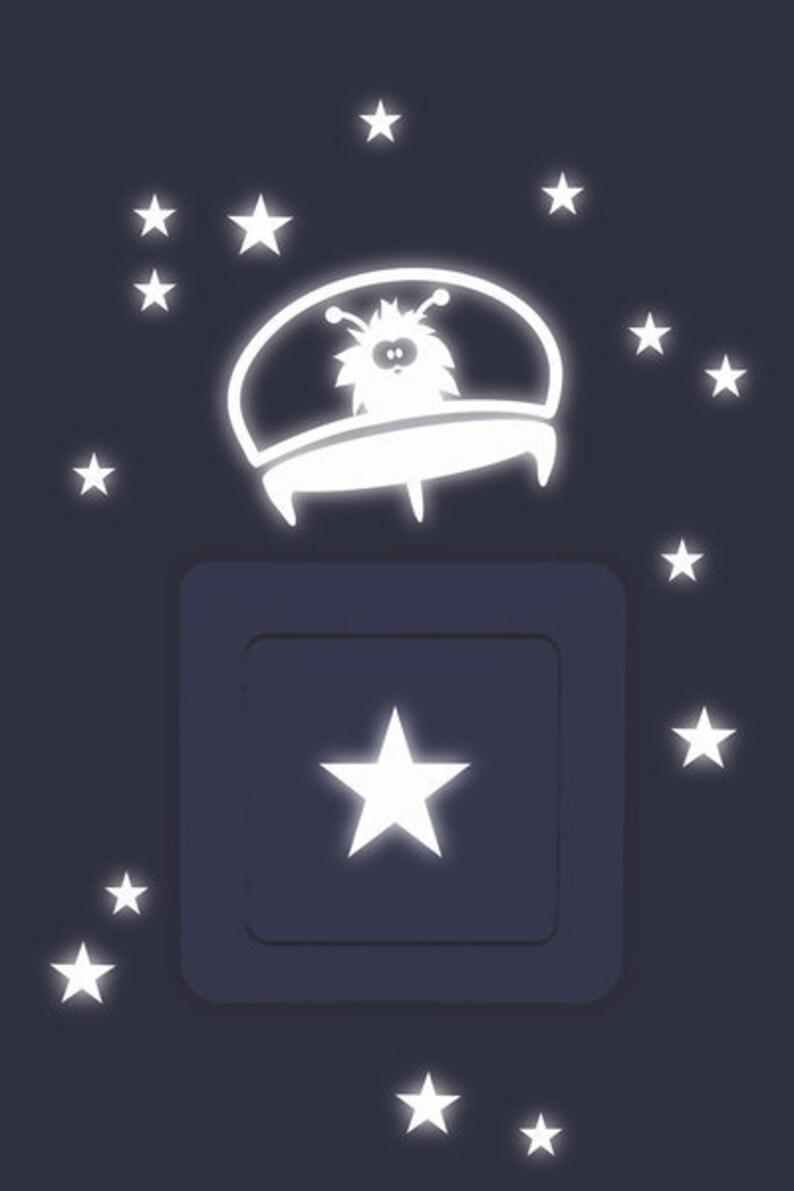Light switch Tattoo UFO 34-pieces stars image 0