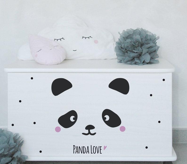 Wall & Furniture Sticker Panda Love image 0
