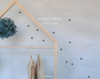 "Wall sticker ""Little Stars"" 3 cm, 80 pieces"