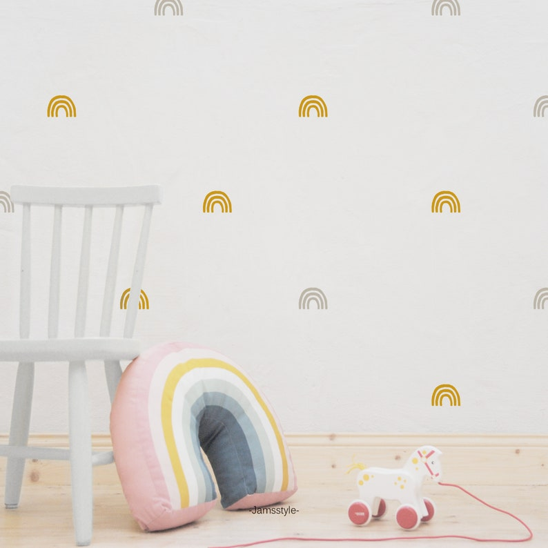 Wall tattoos wall sticker ' rainbow ' different sizes image 0