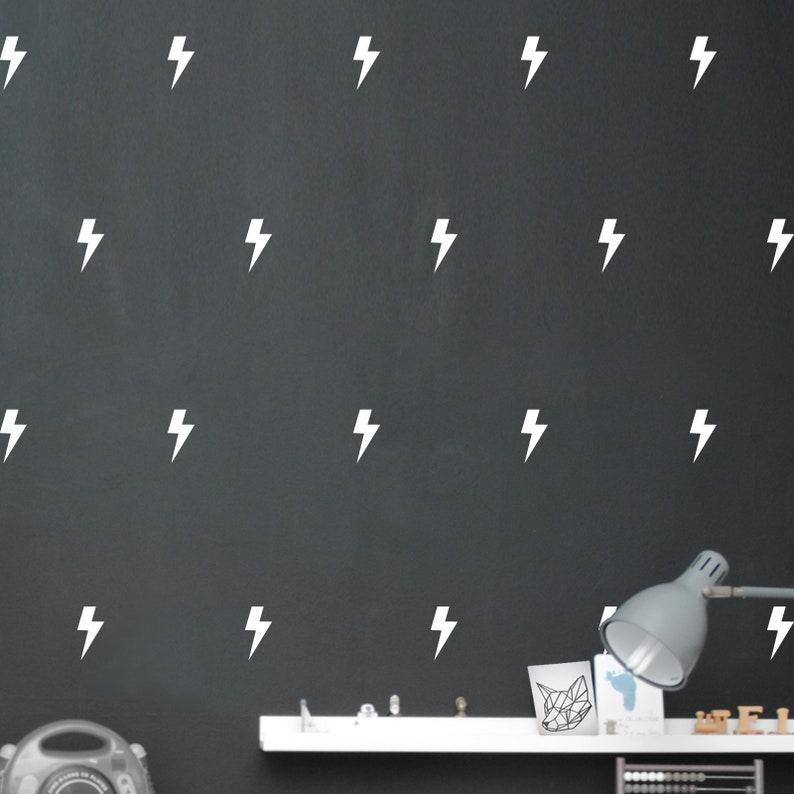 Wall sticker Super hero flashes 4 sizes selectable image 0