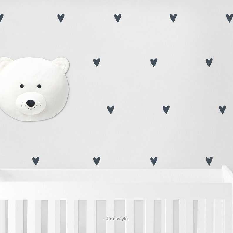 Wall decal wall sticker Hearts 080 wall decals image 0