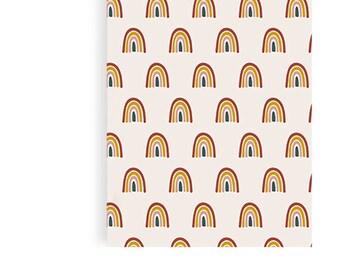 Paper Bags XL 10 Set Rainbow Rainbow Children's Birthday Bag Bags