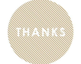 Stickers Thanks 20 Piece Thank You Stickers Stickers