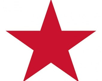 Napkin Star White/red 20 pieces