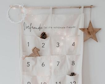 Advent Calendar DIY Organizer Advent Calendar Fabric Calendar to Fill - Advent Christmas