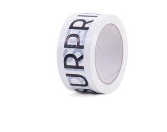Package adhesive tape Surprise 66 m White (basic price: 0.12 Euro /meter)