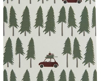 Paper Bags Driving Home for Christmas 10pcs -Christmas Bags Gift Bags Advent Calendar