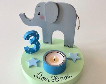 Birthday Candle holder of Pilzglück, birthday candle, children's birthday, birthday, baby, child, birth, candle holder, number