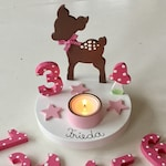 Birthday Candle holder from Pilzglück, birthday candle, children's birthday, birthday, baby, child