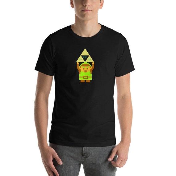 The Legend Of Zelda Tshirt Geek Gift For Him Graphic