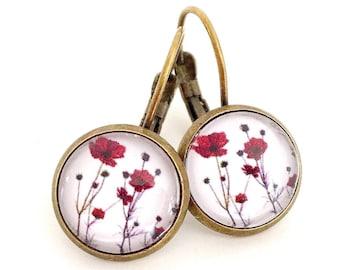 Earrings Vintage 12 mm