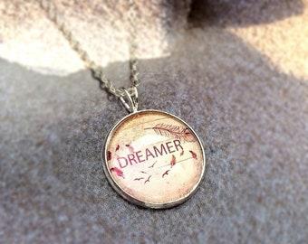 "925 silver necklace ""Dreamer"""