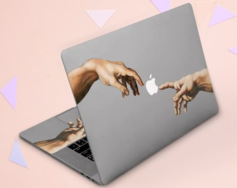 Green Butterfly Artwork Printed Design Keyboard Decals by Smarter Designs for 12 inch MacBook