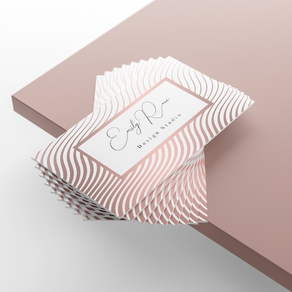 Cartes De Visite Carte Personnalis Design