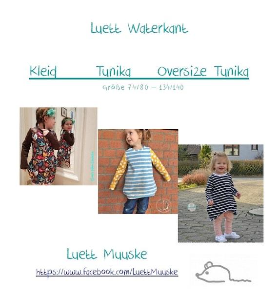 Ähnliche Artikel wie eBook LuettWaterkant 3in1 Kleid Tunika Oversize ...