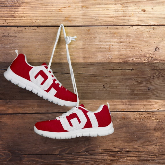 L'Oklahoma Sooners Fan / non-officiel Running chaussures / Fan femmes / hommes / enfants tailles / cadeau football b321f4