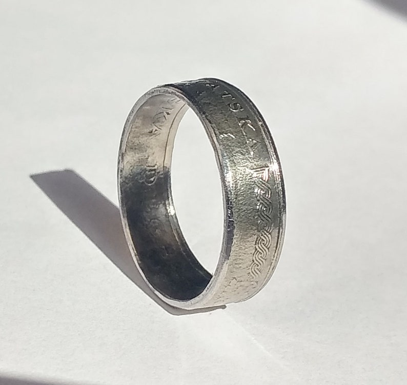 Coin ring Republika Hrvatska-Ring-Coin Ring-Croatia-Croatia-Also possible as a necklace!
