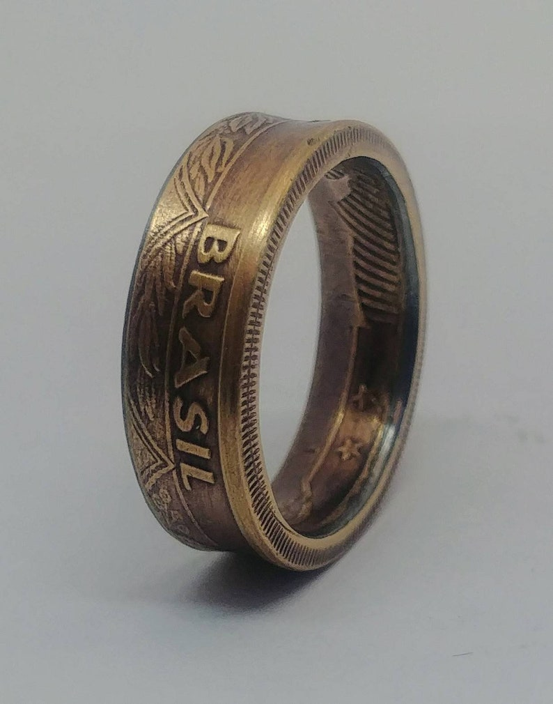 Coin Ring-Ring-Coin Ring-Wedding Ring-Brasil-Brazil-Also possible as a necklace!