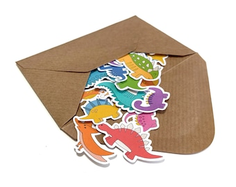 Dinosaur Random Sticker Assortment *Recycled Paper*
