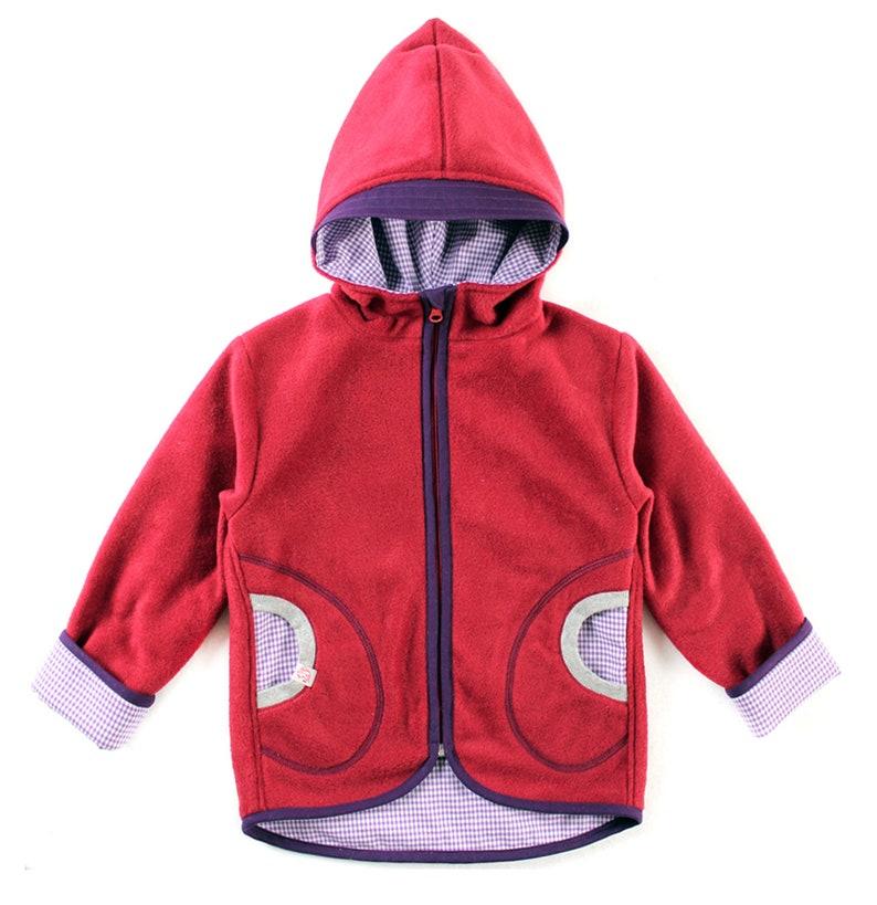 Fleece jacket lined size 98104