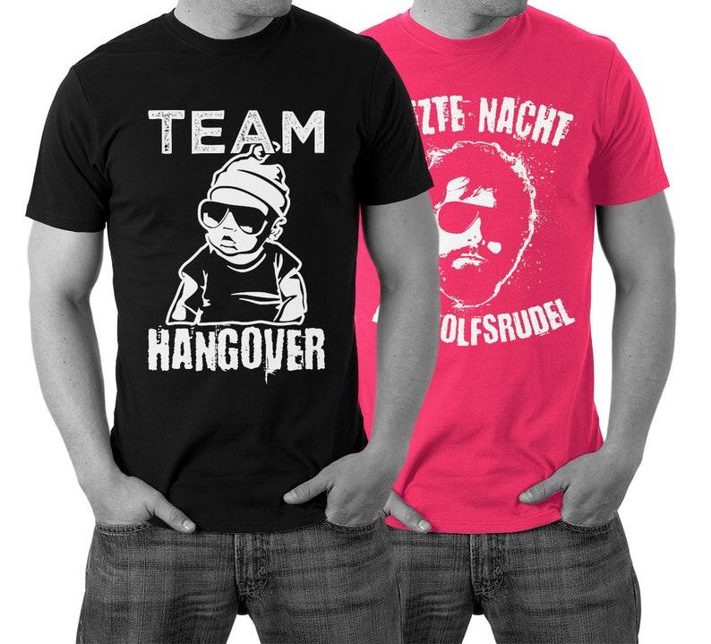 36c427398ae1ad JGA T-Shirts Team Hangover Shirt Letzte Nacht im Wolfsrudel | Etsy