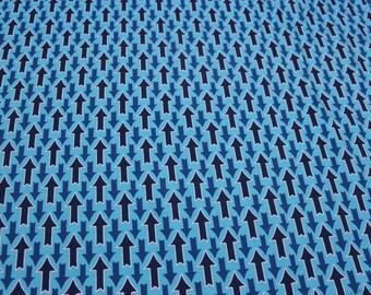 Flutter Flirt Popeline blau Jolijou Swafing Exclusiv 50 cm Meterware