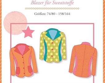 Pattern Grace, Children's Blazer Jacket
