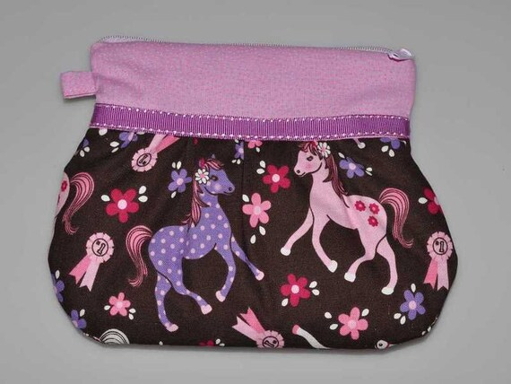 Trousse « Pink horse »