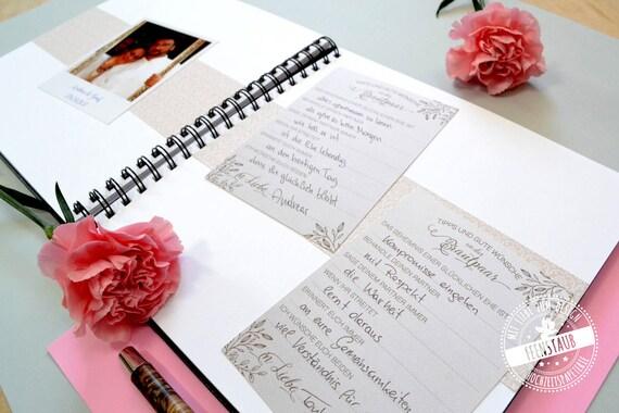 Gästebuch Karten Hochzeit Mit Fragen Gästebuch Alternative Gästekarten Als Hochzeitsgästebuch Zum Ausfüllen Und Einkleben Hochzeitsspiel