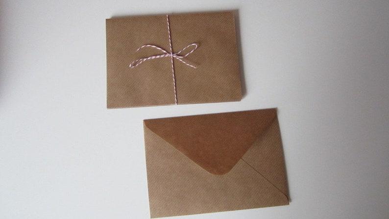 5 Blanko Kuverts Power Paper Envelope Letter Envelope Post Etsy