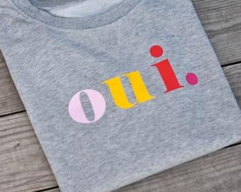 """Ironing pattern plot colorful """"oui."""""""