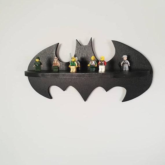 Półka Batman Batman Shelf Superhero Grafika ścienna Etsy
