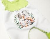 atelier MiaMia cute romper fabric choice