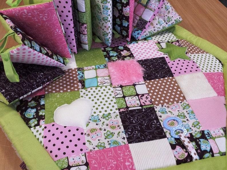 * Cuddle and Adventure Blanket running grid