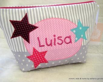 """Toiletry bag -Diaper bag """"STARS"""""""