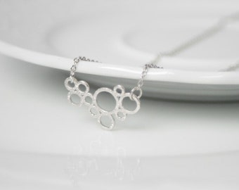 Chain Bubbles Silver PLATED