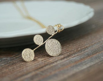 Chain Dots Gold Plated