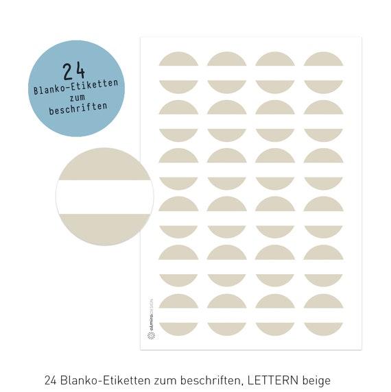 40 mm rund almira Design 168 Gew/ürzetiketten TAFEL-Optik schlicht XXL-Set Kr/äuter Sticker Etiketten Gew/ürze