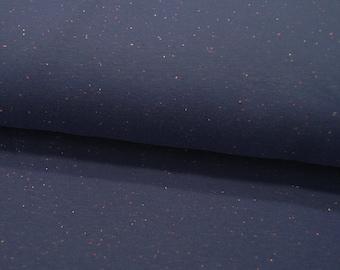 Sweat - Cosy Colours - Confetti on Dark Blue - 0.5 meters