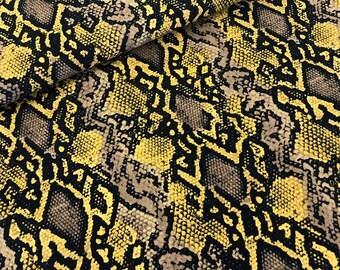 Jersey Snake Print