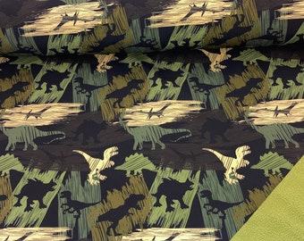 Softshell Dinosaur Camouflage green