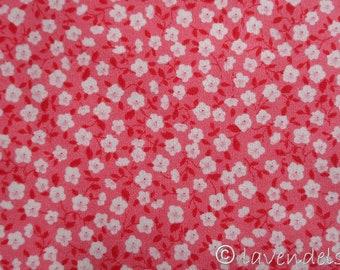 0,5 m Stoff Baumwolle ♥ Ökotex ♥  Sommerblumen  ♥ blau gelb Streublümchen Mille