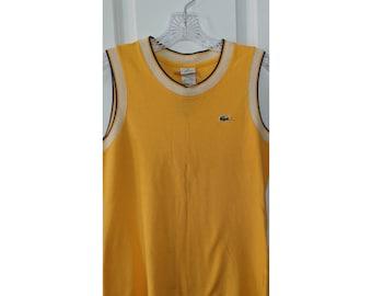a4c726d4a81882 Vintage Lacoste Cotton Vest