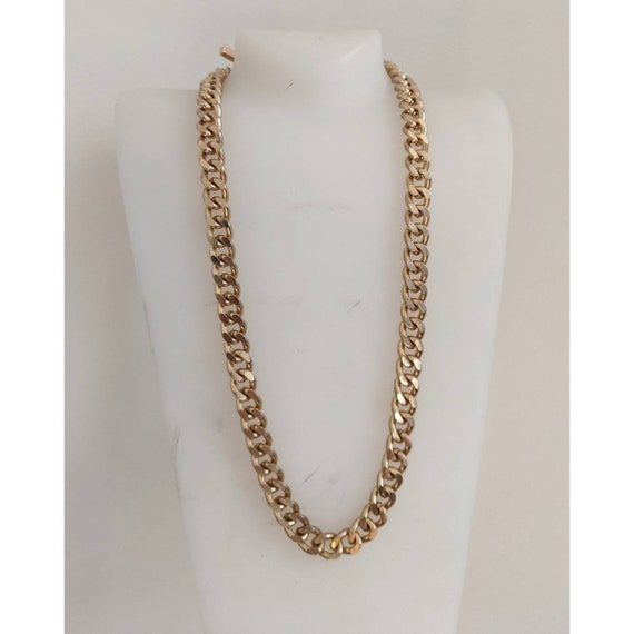 Vintage Goldtone Chain Necklace