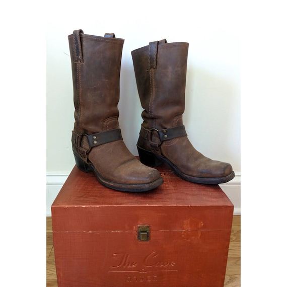 Vintage Classic Frye Harness Boot