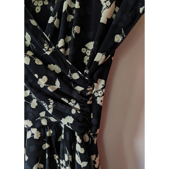 Vintage Anna Sui Silk Peplum Blouse - image 5