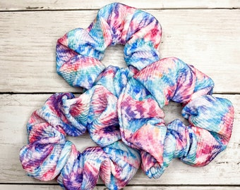Tie Dye Scrunchies! Tiedye Scrunchies! Adult and Child Scrunchies!